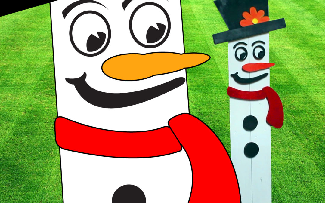 Frosty The Snowman Lawn Ornament